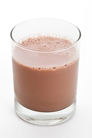 Chocolate Milk close up shot