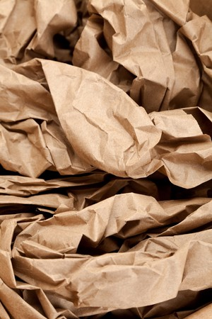 material: Brown Paper,packing material for background Stock Photo