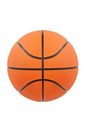 Orange Basketball with white background Stock Photo - 7244119