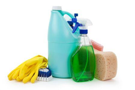 Cleaning Equipment close up shot Stok Fotoğraf