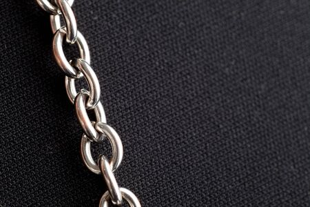 Silver Chain,Jewelry, close up photo