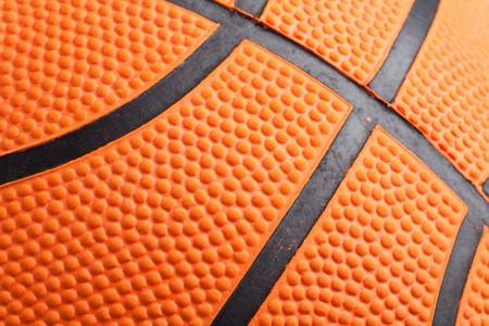 basketball shot: Orange Basketball close up shot