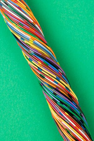 Colorful Cable, Concept of Communication, Data Line