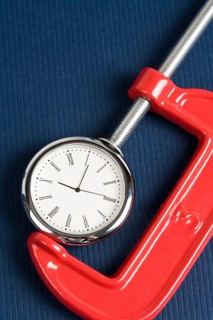 vise: Dise�ados Grip y reloj, concepto de ocupado