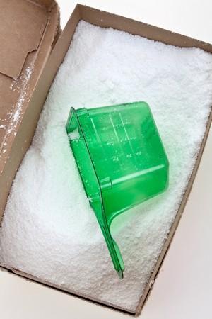 Laundry Detergent close up shot photo