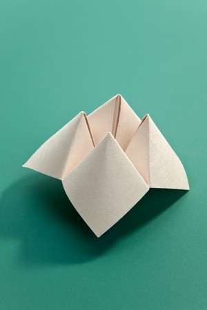 Paper Fortune Teller close up photo