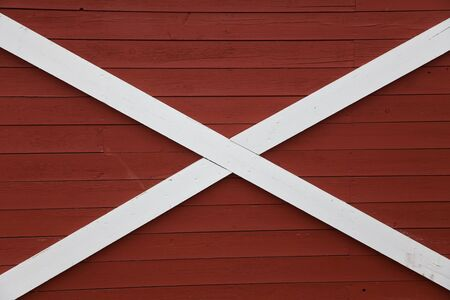 Barn Red Wood Wall for background photo