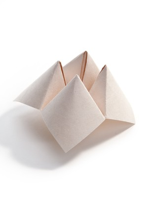 Paper Fortune Teller close up Stock Photo - 7609982