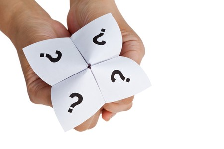 Paper Fortune Teller,concept of uncertainty Stock Photo - 7609991