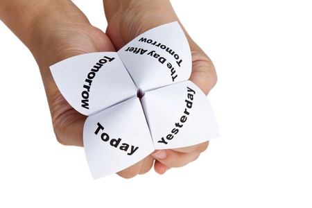 Paper Fortune Teller close up Stock Photo - 7609994