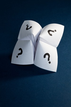 expectation: Paper Fortune Teller,concept of uncertainty