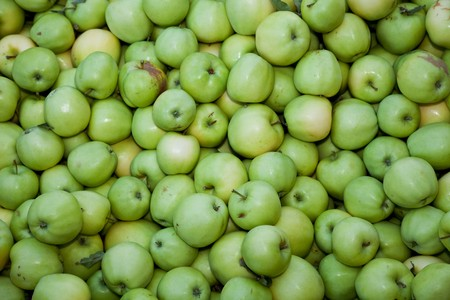 Apple close up for background