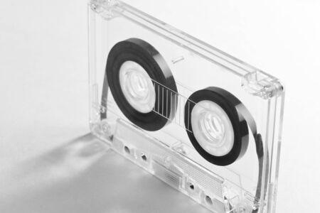Audio Cassette close up shot