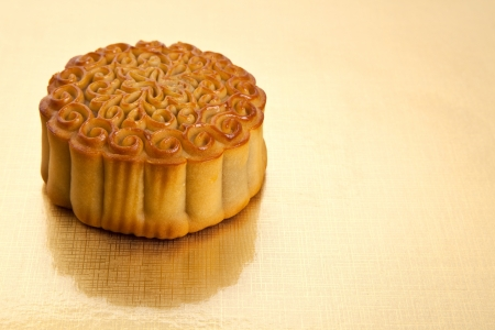 Moon Cake close up, Chinese Culture