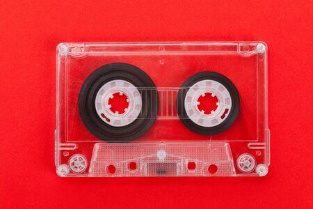 audio: Audio Cassette close up shot