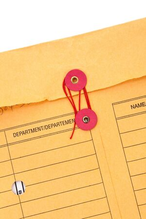 Manila Paper File Envelope close up photo