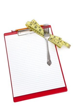 Fork and Clipboard, Concept of Dieting plan