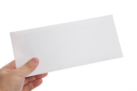 sobres para carta: Blanco sobre fondo blanco