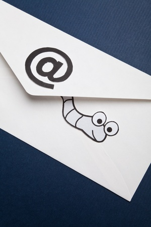 spy ware: Worm and e-mail, concept of E-Mail Security, Virus