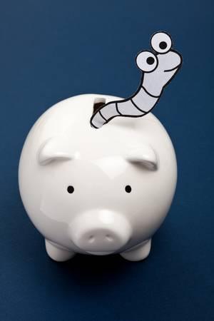 crime: Piggy Bank and Worm, Financial Crime