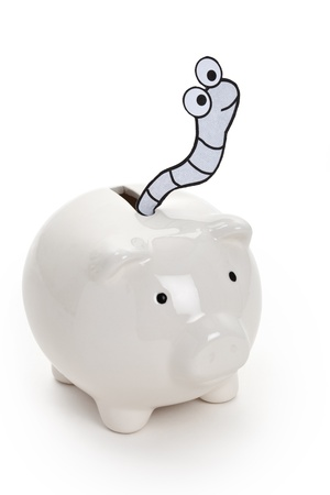 Piggy Bank and Worm, Financial Crime
