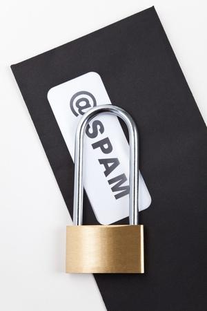 E-Mail SPAM, Concept internet security photo