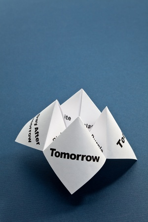 Paper Fortune Teller close up Stock Photo - 8622027