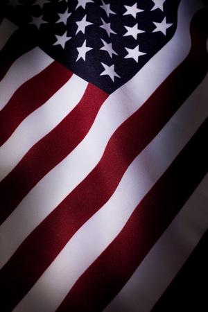 American Flag close up für Hintergrund Standard-Bild - 8880229