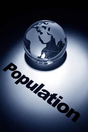 세계, 세계 인구 증가의 개념 스톡 콘텐츠