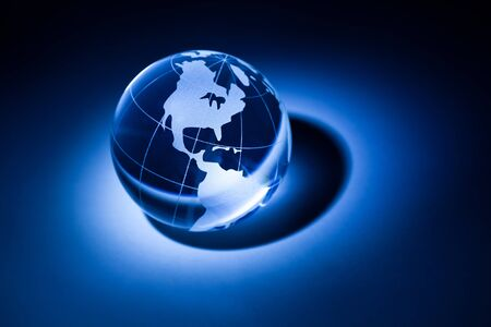 Earth planet,Transparent globe for background