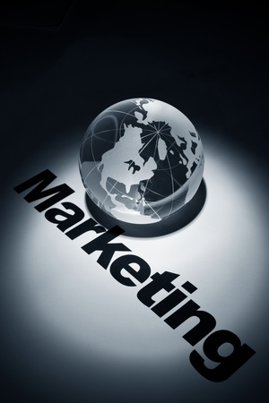 world market: globe, concept of World Market