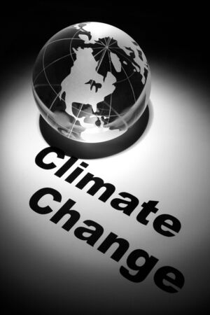 globe, concept of Global Climate Change