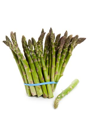 Green Asparagus close up shot photo
