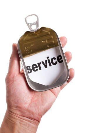 timely: Can and word service, Concept of easy and timely assistance