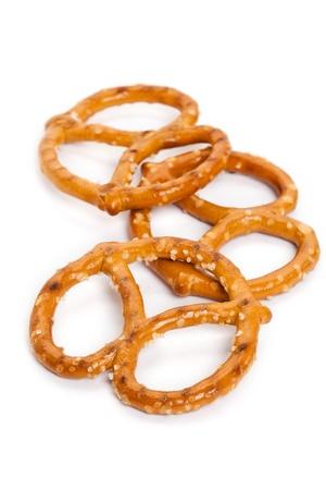 pretzel: Pretzel close up shot