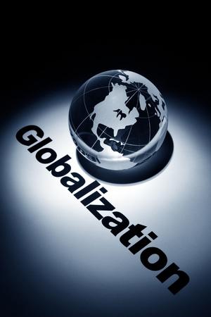 globe, concept of economic globalization