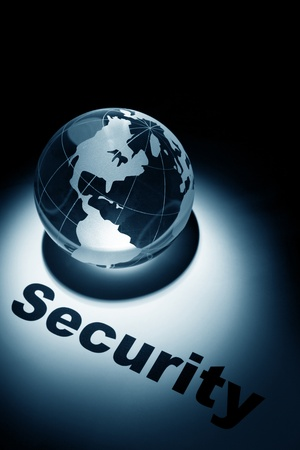 globe, concept of Global Security