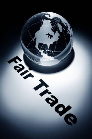globe, concept of Fair Trade Stock Photo - 9582384