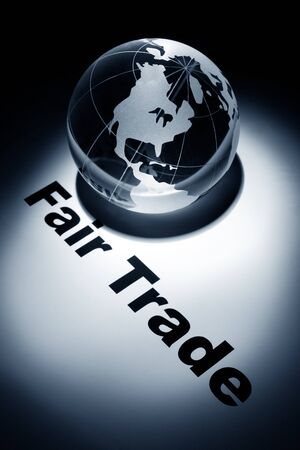 globe, concept of Fair Trade Stock fotó - 9582384