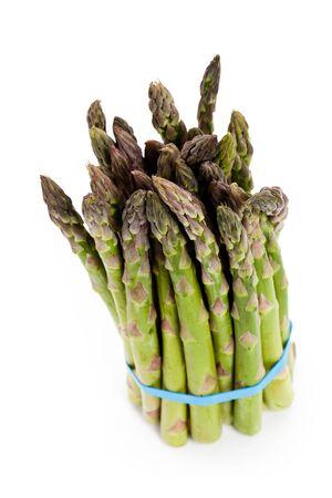 Green Asparagus close up shot photo