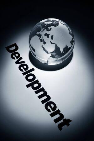 globe, concept of Global Development