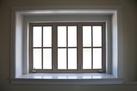 Indoor Window Frame for background Stock Photo - 9660260