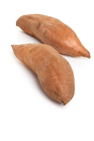 Sweet Potato with white background Stock Photo - 9660216