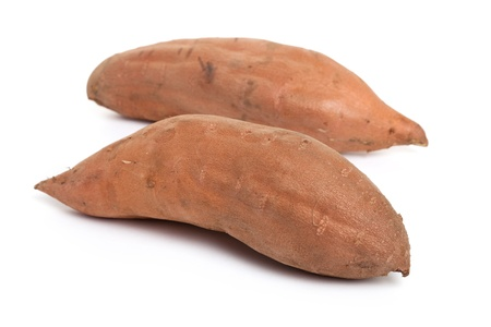Sweet Potato with white background Stock Photo - 9710442