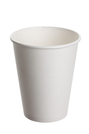 White Paper Cup close up Imagens - 9794952