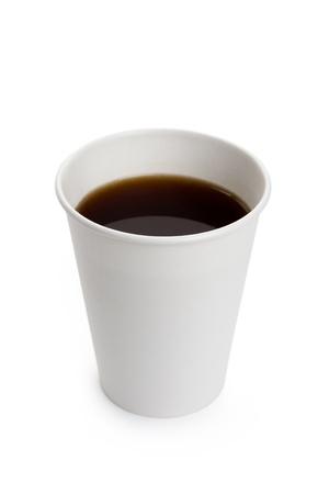 tasse: Coupe du Livre blanc et caf� pr�s Banque d'images