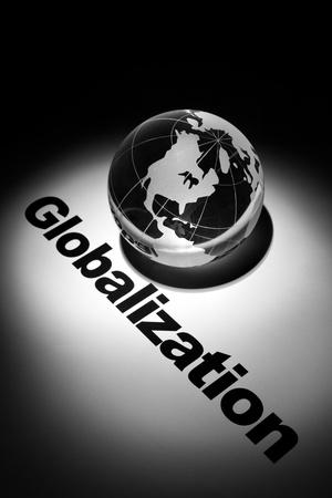 世界経済のグローバル化の概念 写真素材