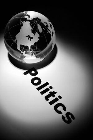 globe, concept of global politics