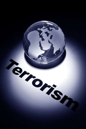 globe, concept of Global Terrorism