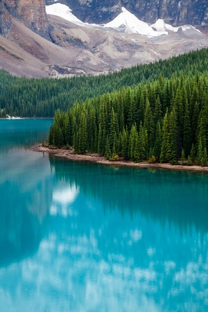 Moraine Lake. Banff National park. Alberta. Canada, Oct. 2011 Stock Photo - 10943173